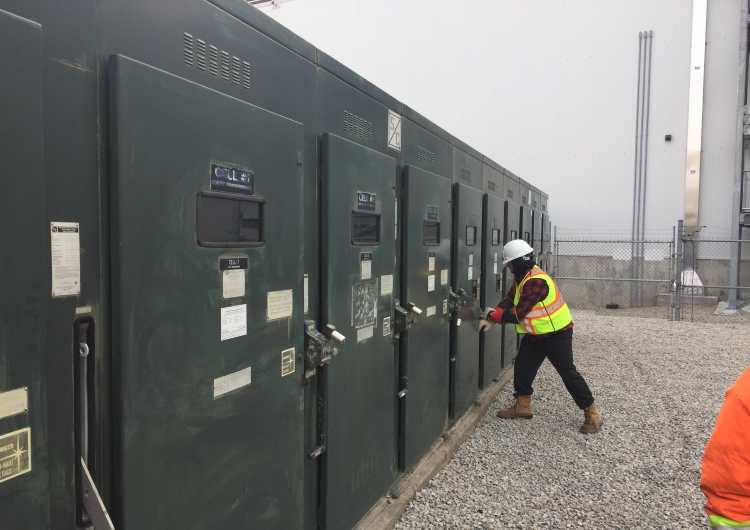 Maple Lodge Farms Substation Maintenance